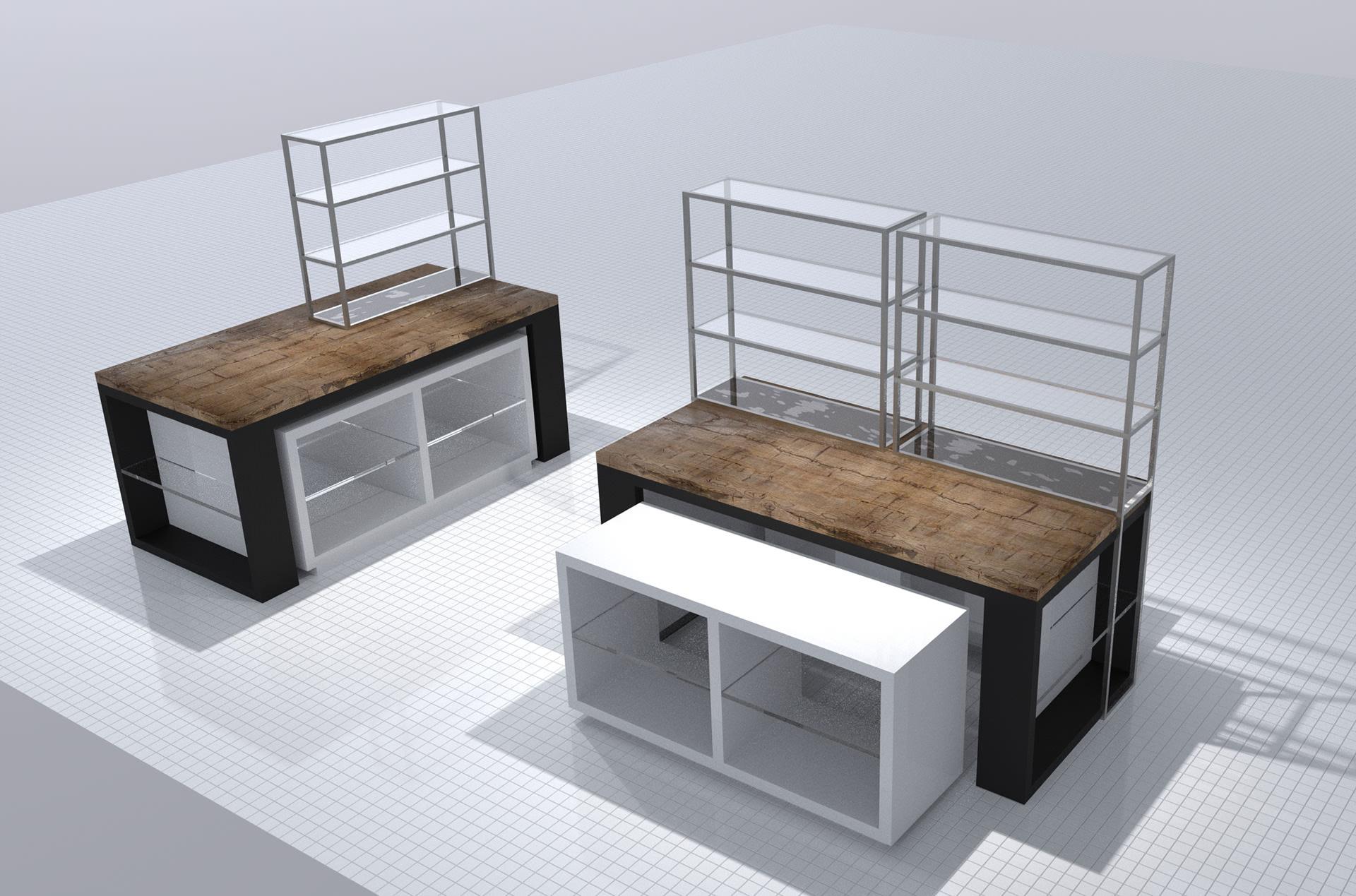 Planung, Visualisierung, Gestaltung | Innenarchitektur Nitschke-Hein Storedesign