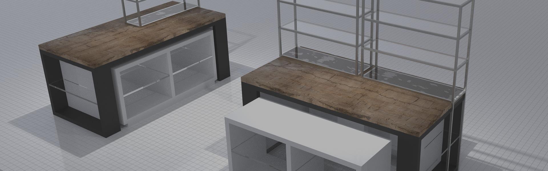 Gewerbe Innenarchitektur | Innenarchitektin Nitschke-Hein Storedesign
